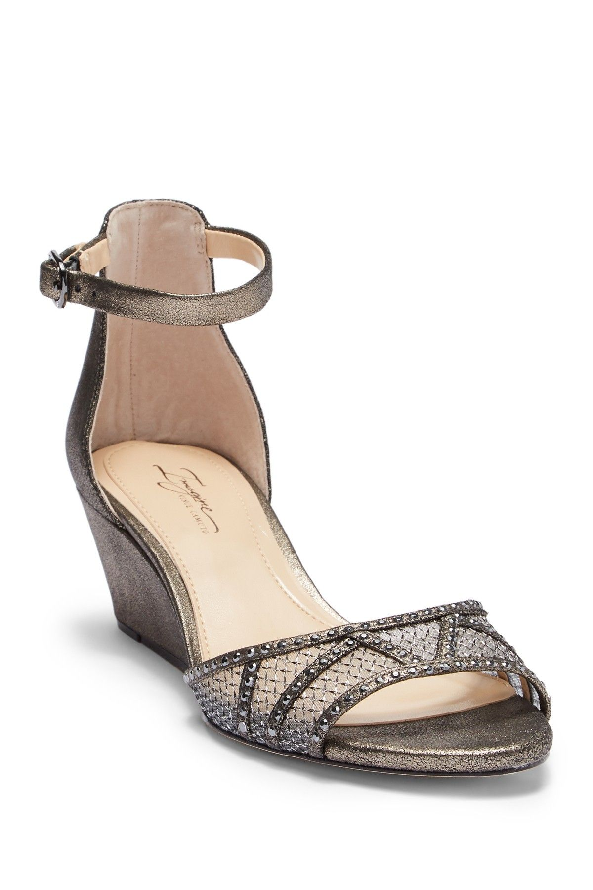 59fb686a5 Imagine Vince Camuto - Joan Ankle Strap Wedge Sandal is now 50% off. Free  Shipping on orders over $100.