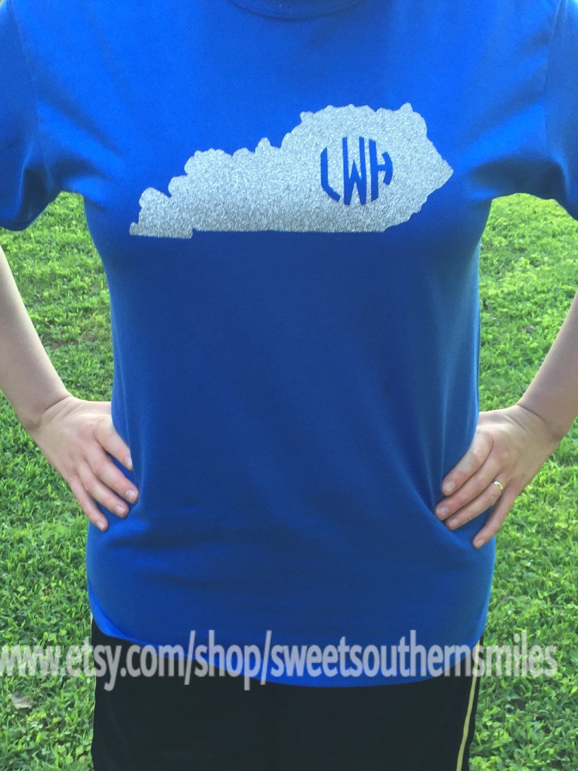 Southern State Shirt with initials (Kentucky) (Other states as well) by SweetSouthernSmiles on Etsy https://www.etsy.com/listing/240902335/southern-state-shirt-with-initials