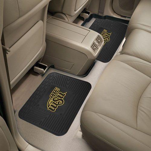 Wichita State University Backseat 2-pc Utility Mat Set