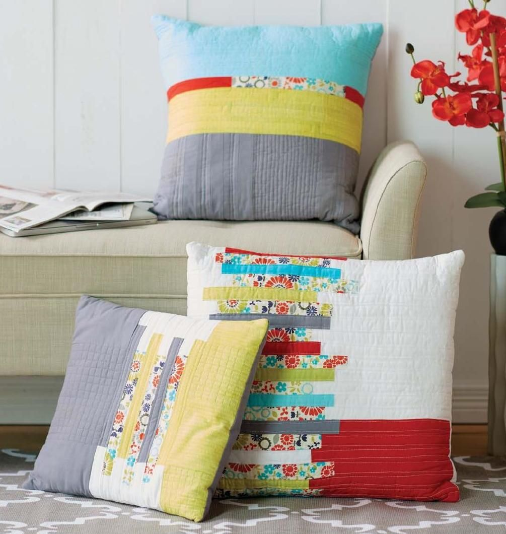 Sew news august september september and pillows