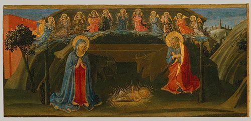 Zanobi Strozzi and Fra Angelico: The Nativity (1983.490) | Heilbrunn Timeline of Art History | The Metropolitan Museum of Art