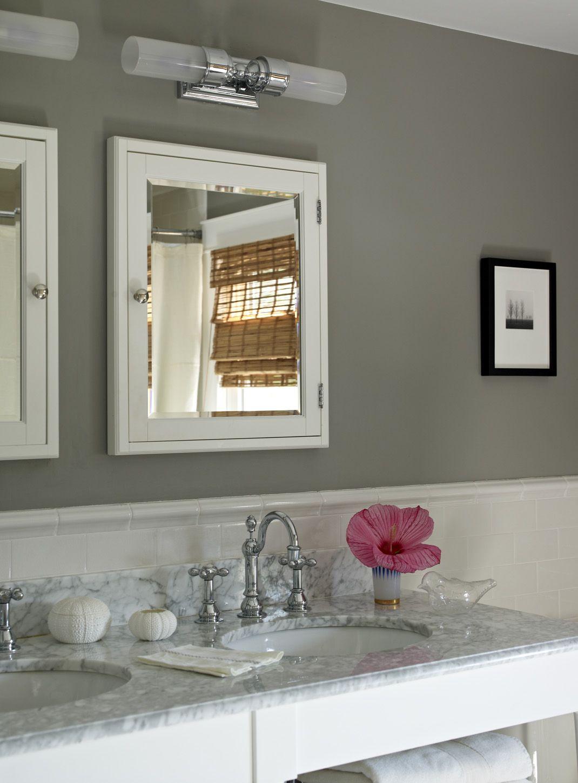 gray bathroom walls - HD1070×1450