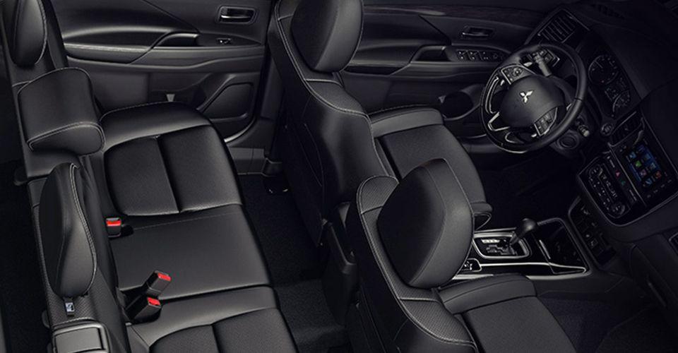 El interior de la #MitsubishiOutlander, ideal para tu familia.
