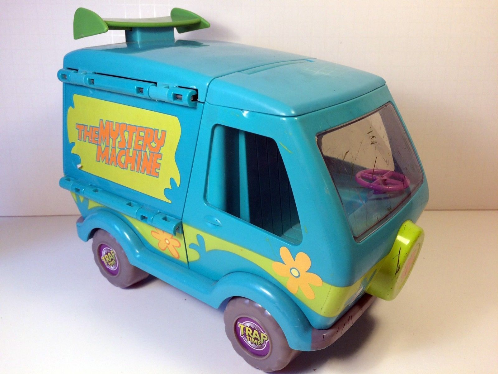 Scooby Doo Mystery Machine Transforming Van Trap Time ...