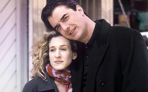 Carrie and Mr Big (Sarah Jessica Parker & Chris Noth)
