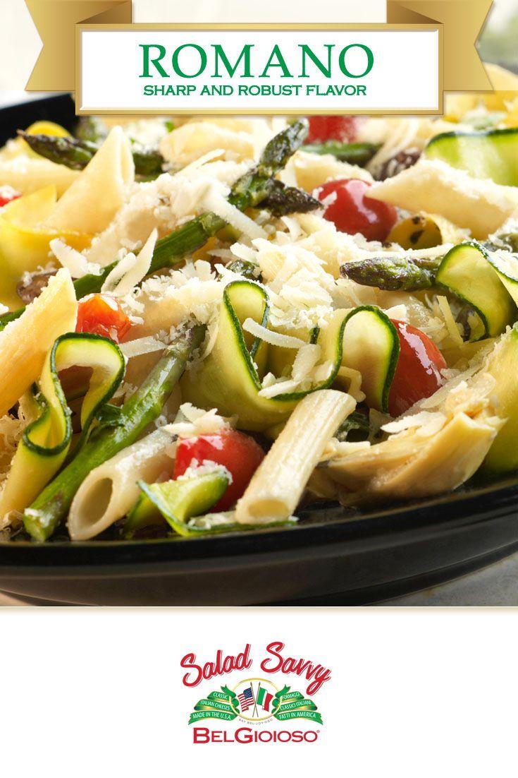 Tasty and healthy greens: Romano salad 17