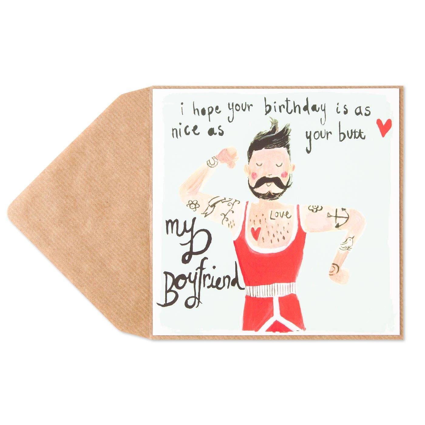 Tattoo Birthday Card For Boyfriend