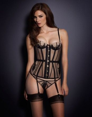 Autumn Winter 2013 by Agent Provocateur - Demelza Corset