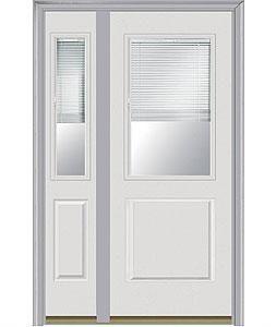 Entry Door Door With Sidelite Left Milliken Millwork Internal