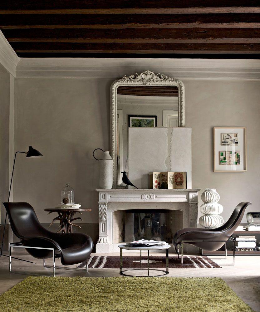 Armchair: MART - Collection: B&B Italia - Design: Antonio Citterio ...
