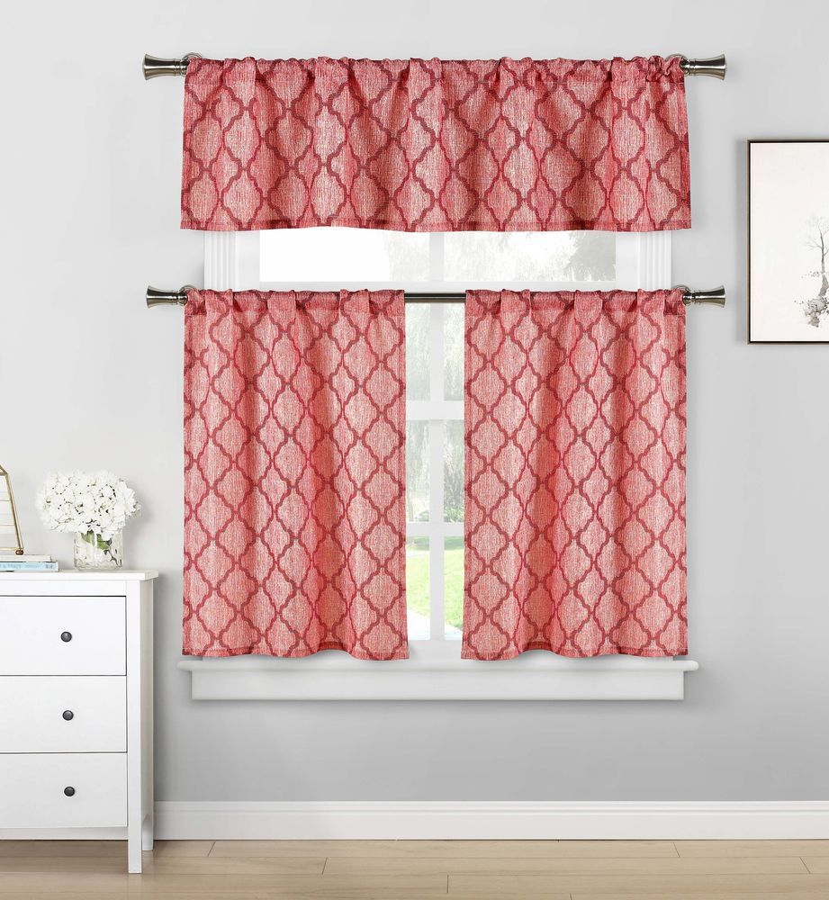 enchanting trends swag valances pictures shocking kohls curtains also for red at and valance kitchen image country jcpenney