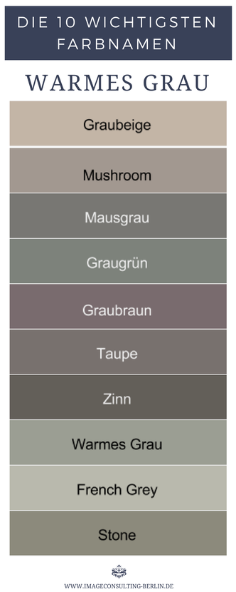 Warme Grautone Sind Graubeige Mushroom Mausgrau Graugrun