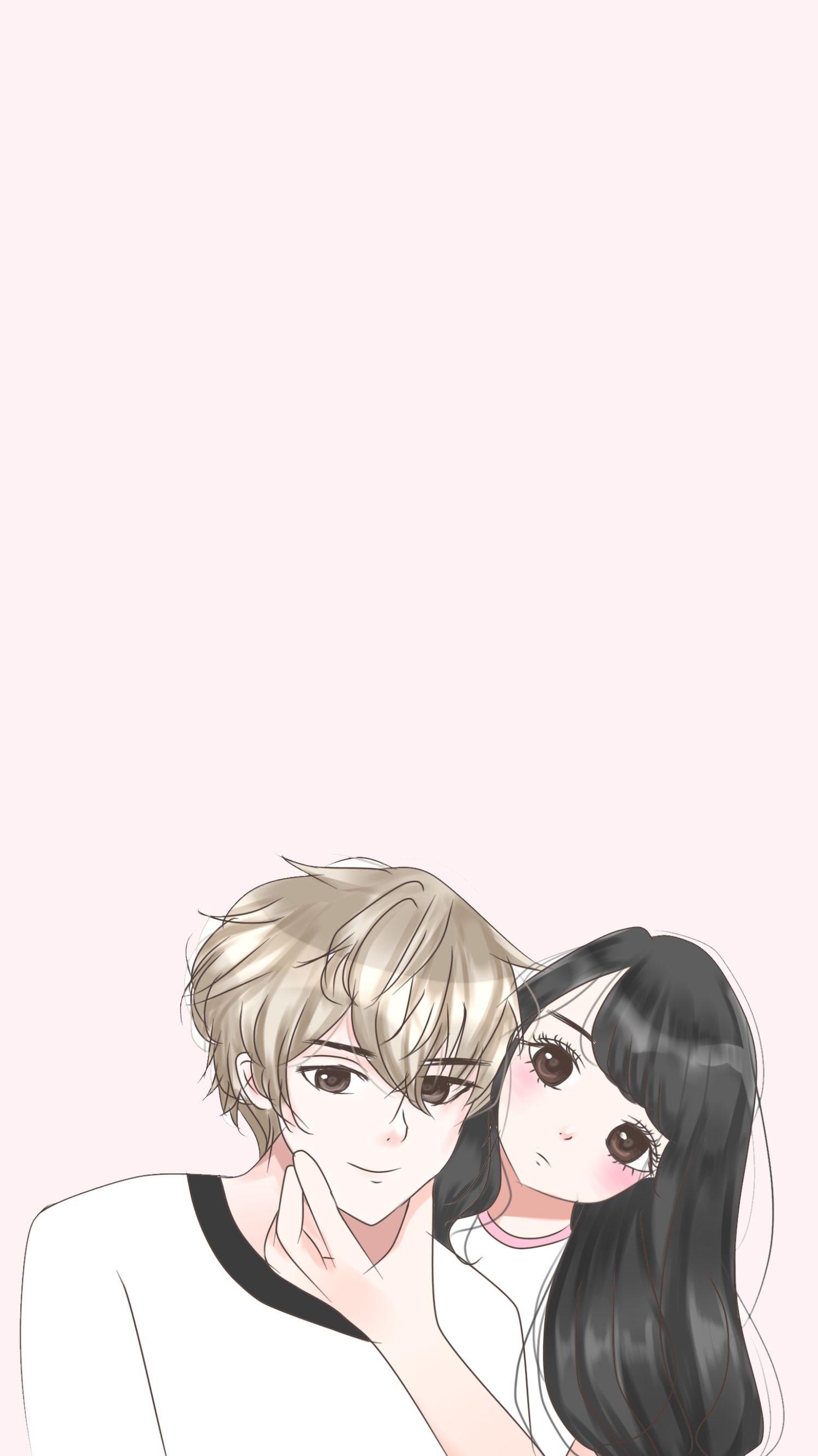 Girl Boy Couple Cute Illustration Anime Cover Wattpad Ilustrasi Karakter Ilustrasi Seni Animasi