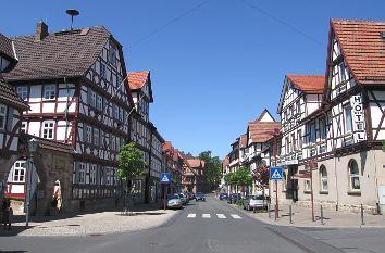 Marktstraße in Wanfried Schöne deutsche städte