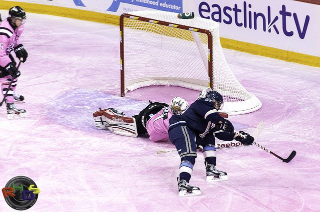 Mooseheads Pink in the Rink 5 by Rodney Hickey Design Studio, via Flickr