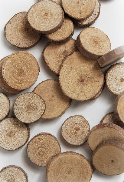 Box Of Small Wooden Circle Slices By Krystlesweddings On Etsy 500