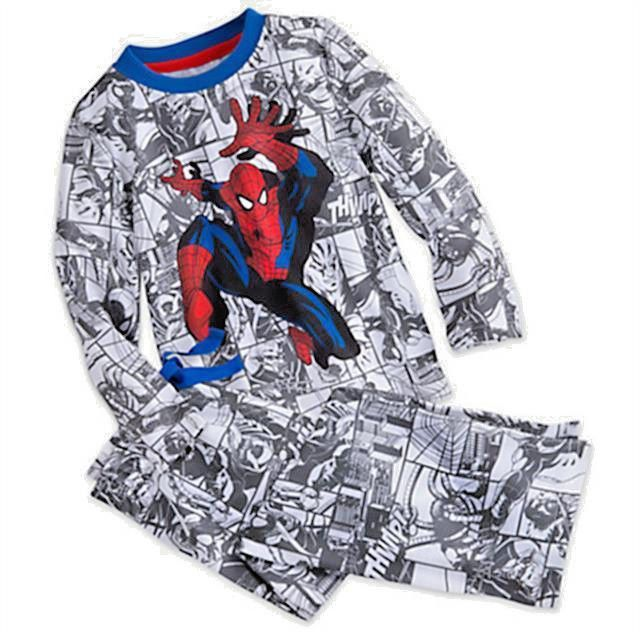Spiderman Long Sleeve Sleep Set for Boys- Size 9/10 NWT Disney/Marvel #DisneyMarvel #PajamaSets