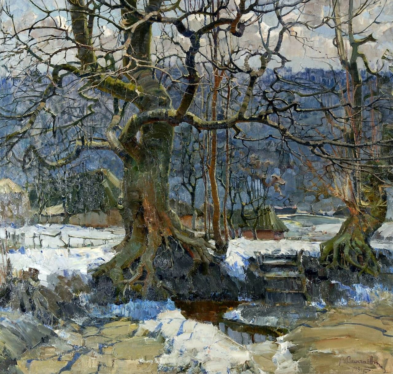 Vladimir Singaevskiy The Great Age Oil On Canvas 148 X 157