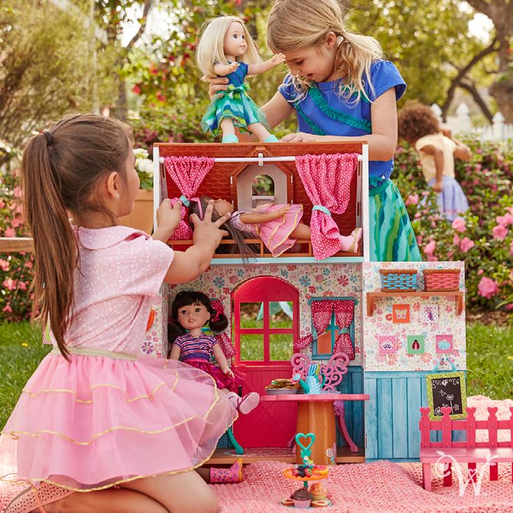 Perfect Wellie Wisher Doll House  New 23. Juni American Girl