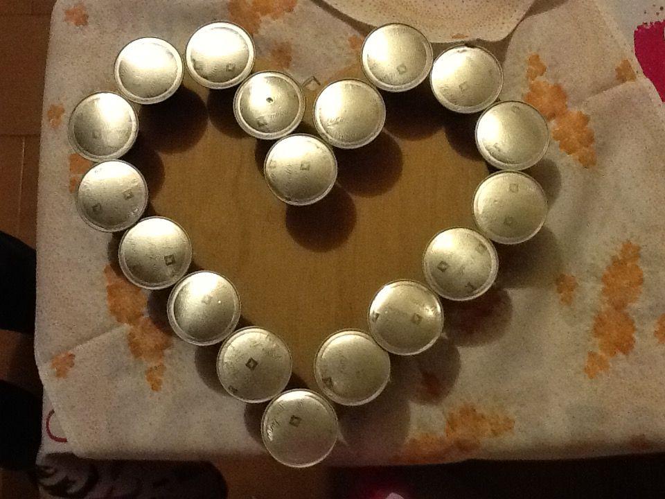 Come fare un cuore al gusto di caffè usando cialde scadute