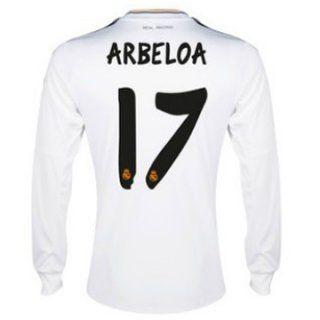 e89c51c24 Nueva Camiseta de ARBELOA del Real Madrid ML Primera 2013-2014 ...