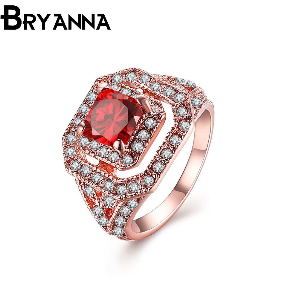 Bryanna elegant trendy engagement rings for women fashion jewelry
