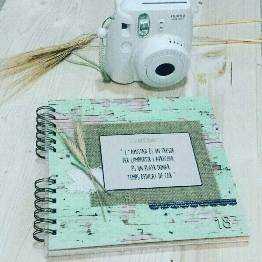 Libro de firmas para 18 cumplea os personalizado con - Album de fotos personalizado ...