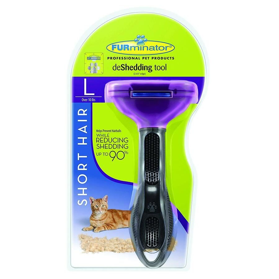Cat Furminator Brush Short Or Long Hair Deshedding Tool For Cats Ad Brush Short Cat Furminator Deshedding Cat Brushing