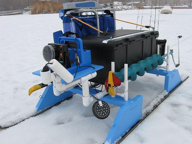 Ice Fishing Sled Homemade