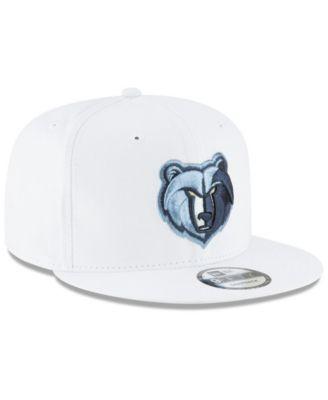 meet ec712 719d5 New Era Memphis Grizzlies Team Metallic 9FIFTY Snapback Cap -  White Metallic Adjustable