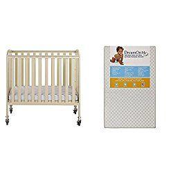 Attirant Dream On Me, 3 In 1 Folding Portable Crib With Dream On Me