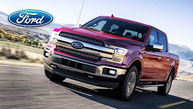 2018 Ford F 150 Large Pickup Truck With Design And Engine Upgrades Truck Design Ford Pickup Trucks
