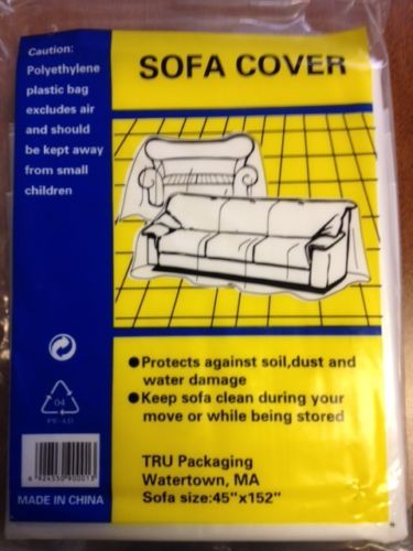 2 Plastic Sofa Couch Cover For Moving And Storage 45 X152 Couch Covers Moving And Storage Sofa Couch