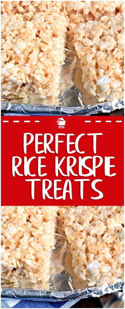 Perfect Rice Krispie Treats#krispie #sweet – Çorba Tarifleri