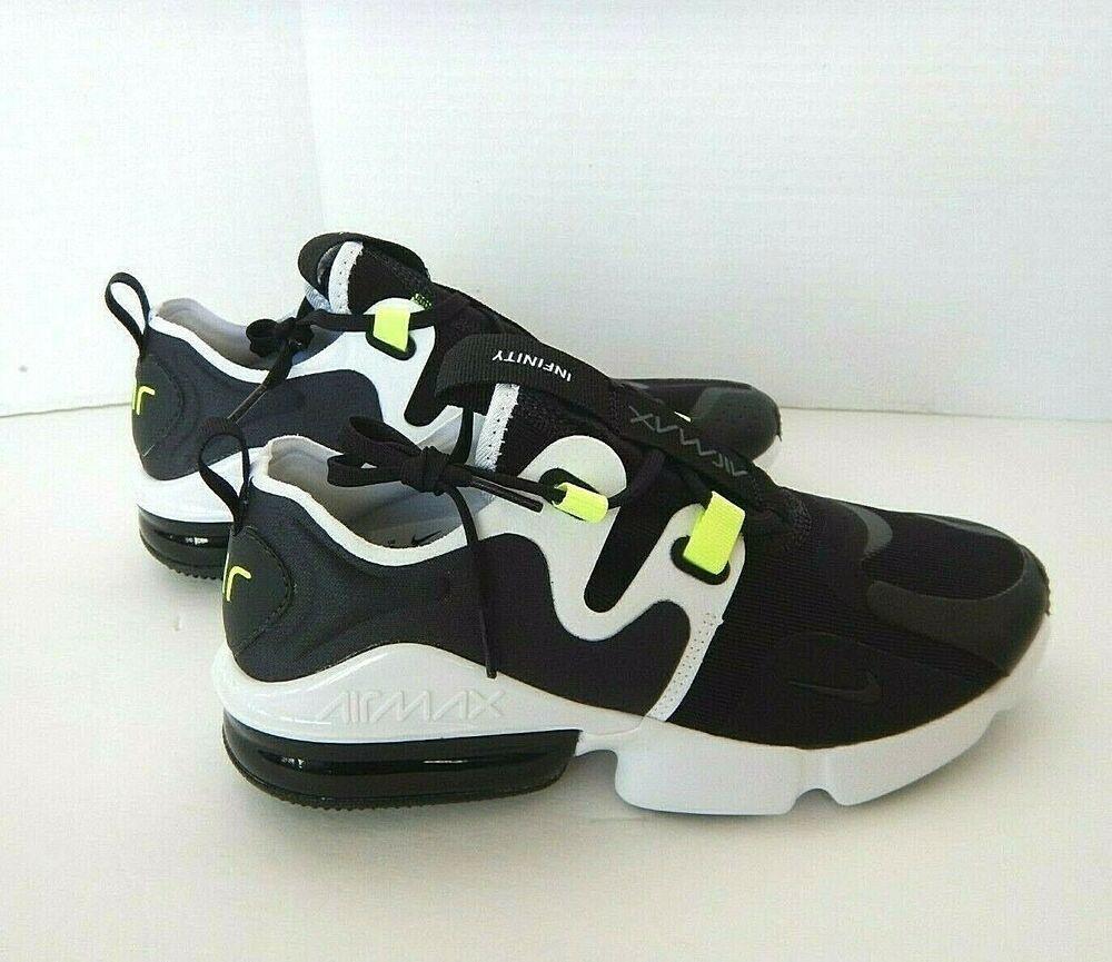 Nike Air Max Infinity Bq3999 001 Men S Running Shoes Us Size 7 Ebay In 2020 Running Shoes For Men Man Running Air Jordans Retro