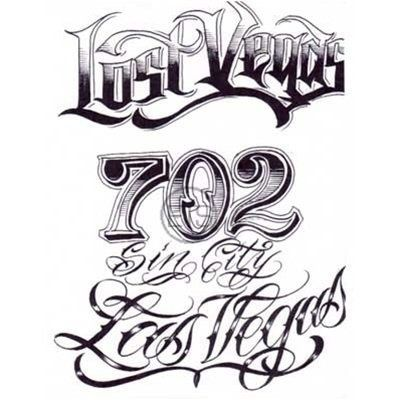 Badass Lettering Like The Design Of The Numbers 2 Tattoo