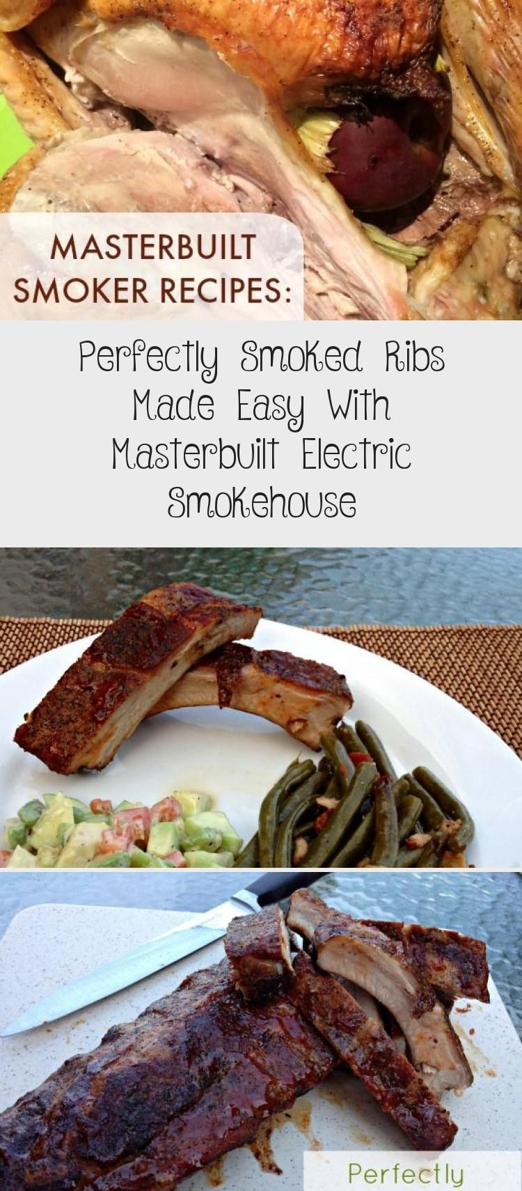 Perfectly Smoked Ribs Made Easy With Masterbuilt Electric Smokehouse Recipe Of The Days Chicken Meat Recipe In 2020 Smoked Ribs Smokehouse Recipes Meat Recipes