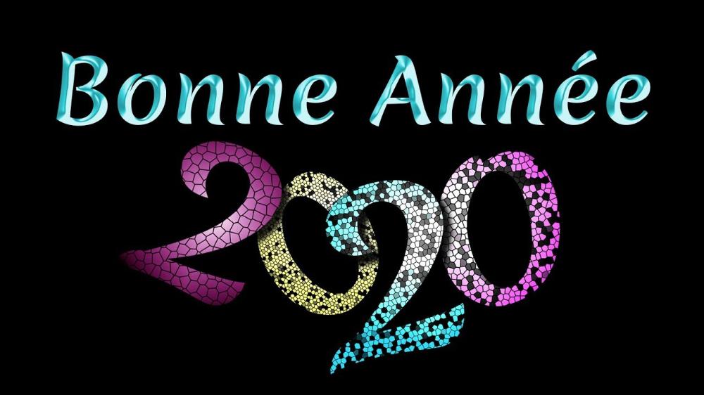 carte de voeux virtuelle 2020 Jolie carte de Vœux virtuelle 2020   Bonne Année 2020