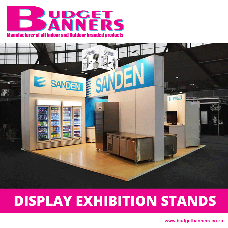 Outdoor Expo Stands : Display stands exhibition stands budget banners display