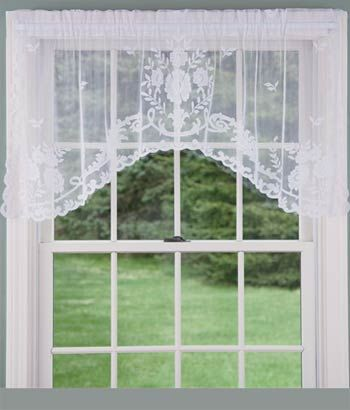 lace valance sheer valances lace curtain valance white curtain