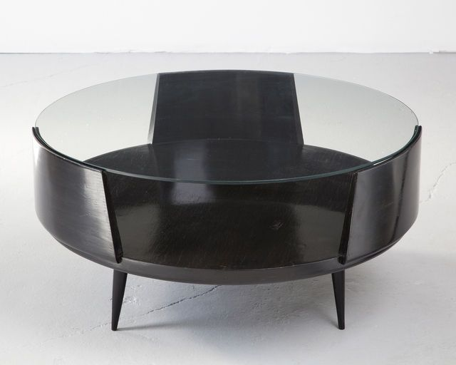 Eisler Round Coffee Table 1950s Available For Sale Artsy Coffee Table Round Coffee Table Coffee Table Wood