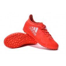 watch 4d292 9bb9d adidas x 16.3 tf brilhante crimson-metálico prata barato sapatos de futebol