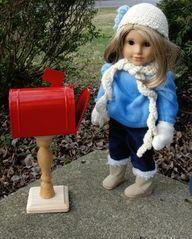 American Girl Doll C - http://crochetimage.com/american-girl-doll-c/
