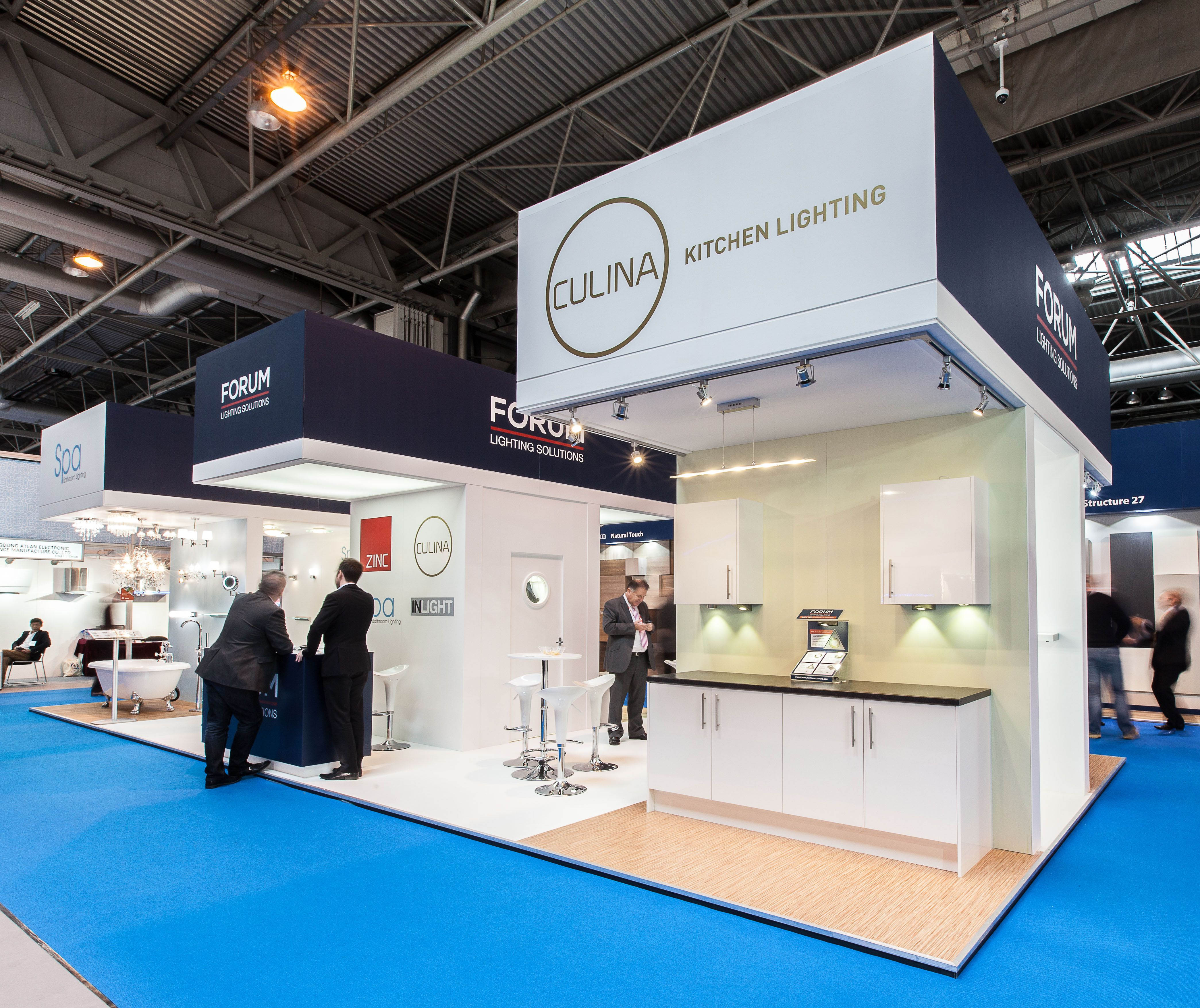 Exhibition Stand Lighting Uk : Exhibition stand stand designed built and installed for forum