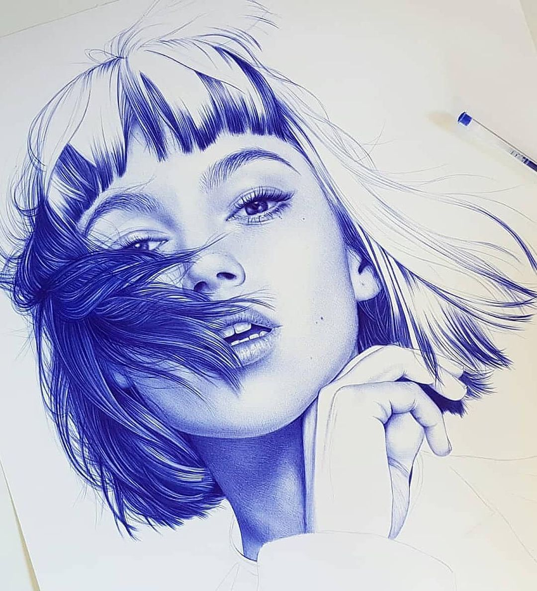 Rate these ballpoint pen drawings from 1 10 follow us arts hub for more by evagarrido follow us arts hub