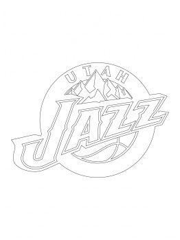 utah jazz coloring pages Utah Jazz Logo | Kids | coloring pages | Utah Jazz, Jazz, Coloring  utah jazz coloring pages