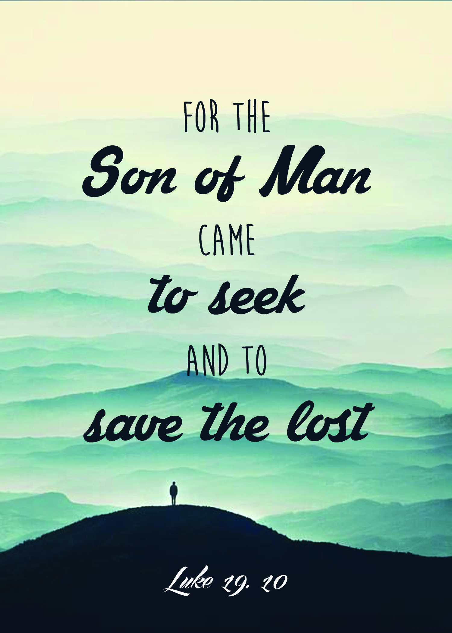 Luke 19 10 | The son of man, Cool words, 10 things