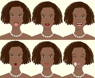 natural hair cartoon pictures | Naturally Beautiful Hair Blog