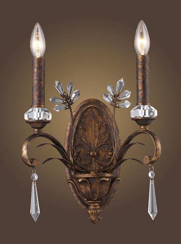 ELK Lighting 2180-2 Two Light Sconce In Burnt Bronze | Elk, Elk ...