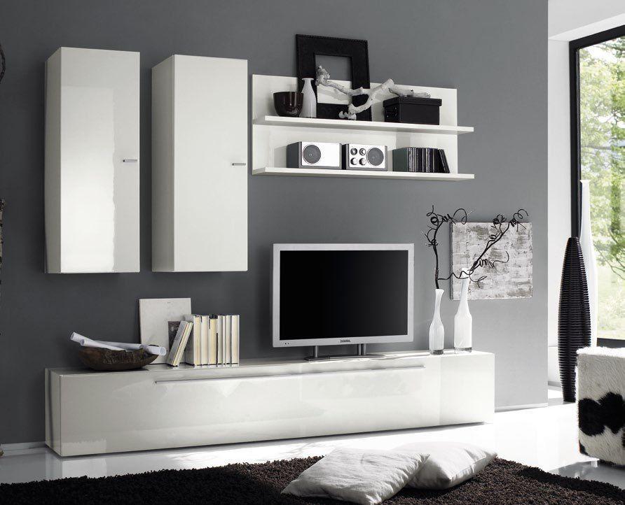 Dettagli su Mobile soggiorno design portaTV con colonne